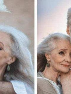 老人海边浪漫图片唯美图片