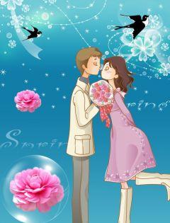 浪漫图片情侣梦幻动漫图片唯美图片大全