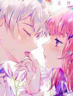 二次元情侣接吻浪漫图片唯美头像情侣