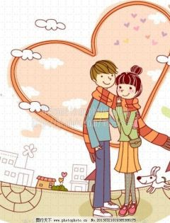 情侣动漫浪漫壁纸图片大全