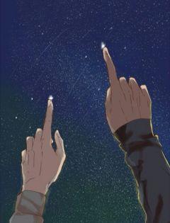 情侣星空浪漫壁纸