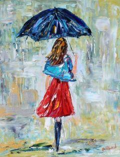 下雨浪漫图片唯美图片