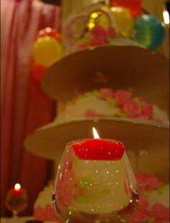 家里红酒蜡烛浪漫图片大全