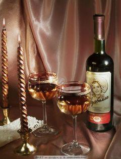 红酒家中浪漫图片