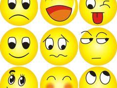 qq微笑表情图片头像