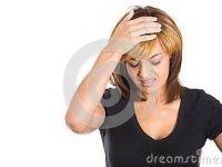 头痛头大表情图片
