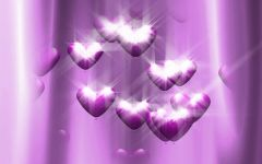 暗紫色爱情图片