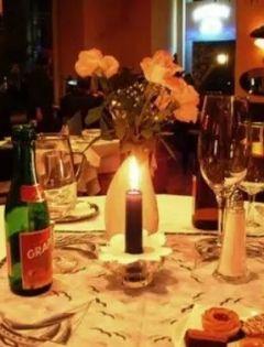 红酒的浪漫图片唯美