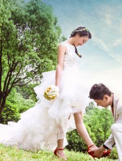 婚纱浪漫图片小清新