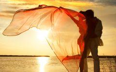 早安海边浪漫图片唯美图片带字
