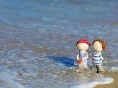 早安海边浪漫图片唯美图片带字图片