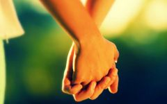 牵手爱情语图片