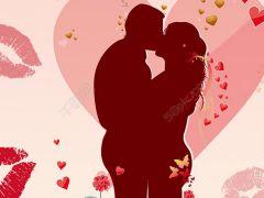 动漫爱情浪漫亲吻图片