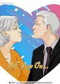 老人的爱情图片动漫