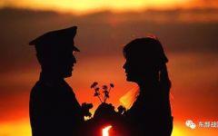 军人爱情图片