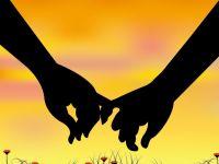 手牵手浪漫爱情图片