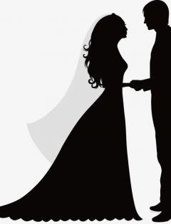 浪漫老人情侣图片黑白