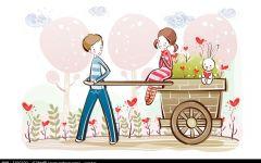卡通浪漫情侣图片大全