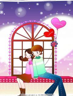 浪漫唯美情侣图片