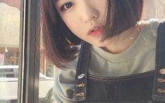 微信短发图片女生头像