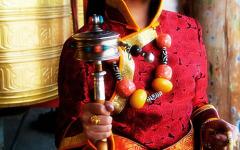 藏族美女微信头像