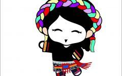 藏族人艺术微信头像