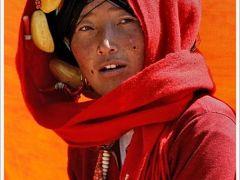 藏族个性微信头像女