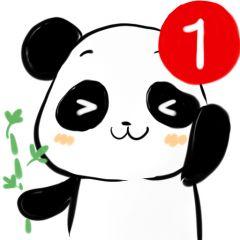 微信头像熊猫卡通可爱