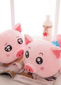 猪的图片情侣可爱图片大全