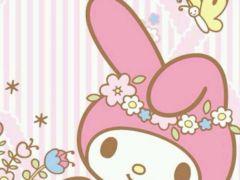 粉色壁纸卡通可爱图片