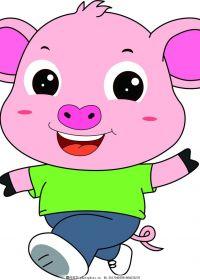 猪的动漫图片可爱图片