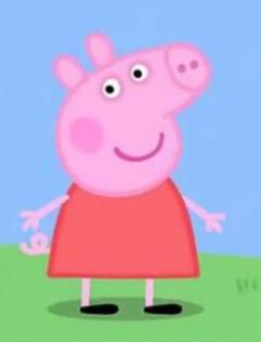 小猪佩奇情侣图像