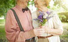 老人情侣图片高清图片