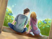 幸福卡通情侣图片唯美