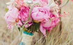 女人用鲜花做微信头像