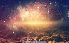 浪漫星空唯美图片