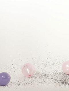 浪漫气球图片唯美清新