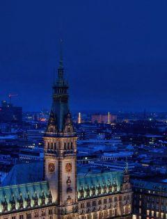 城市唯美浪漫风景图片
