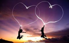 爱的唯美图片情侣浪漫