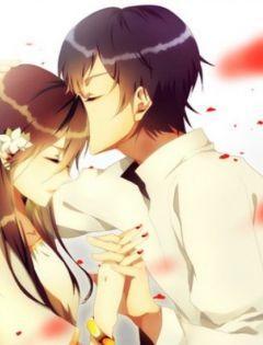 唯美情侣卡通图片浪漫