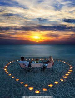 浪漫海滩图片大全