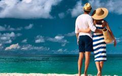 浪漫海滩情侣图片国内