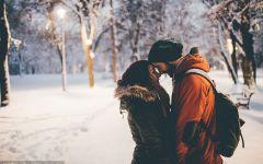 浪漫的下雪天图片唯美