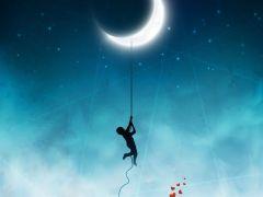 情侣头像浪漫星空