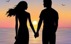 情侣浪漫的图片背影