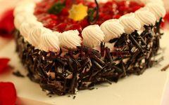 心形蛋糕图片大全浪漫