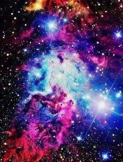 个性浪漫星空图片