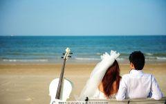 海边唯美浪漫表白图片