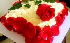 送老公浪漫蛋糕图片