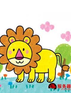 幼儿简笔画图片带颜色